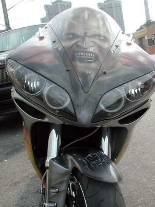 Aerografia: Motocykle 8