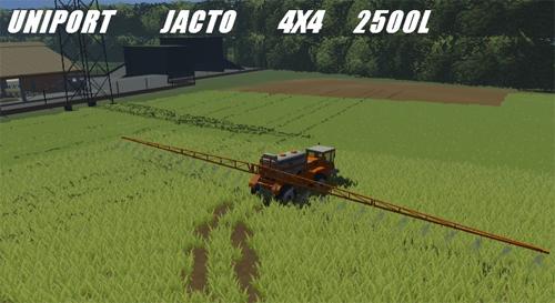 UNIPORT Jacto 4x4 2500l