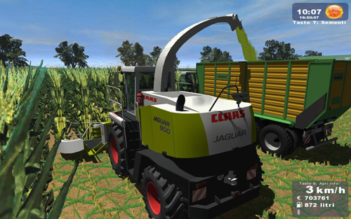CLAAS Jaguar 900 (PathTractor Ready)