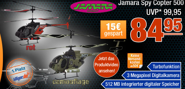 Jamara Spy Copter 500