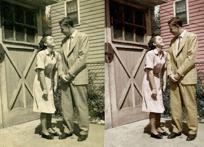 Drugie życie starych fotografii 23