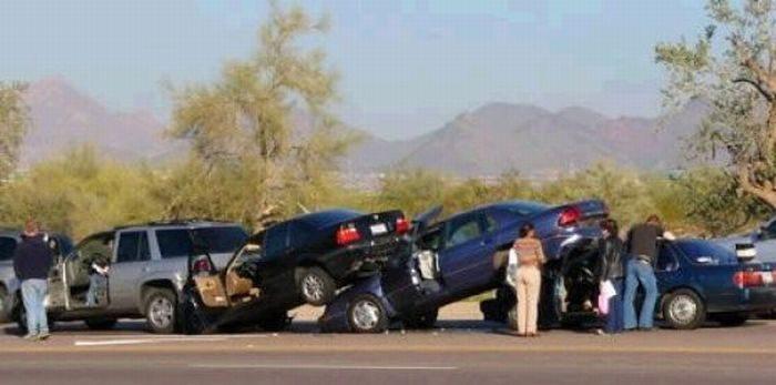 Nietypowe wypadki drogowe 4