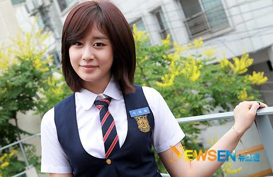 K Pop News: Jiyeon in school uniform!