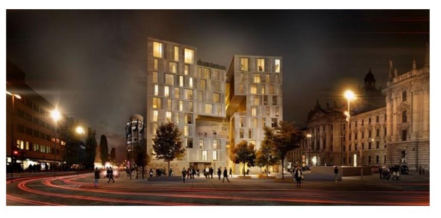 neubau hotel bahnhofplatz 7 innenstadt bauforum ulm. Black Bedroom Furniture Sets. Home Design Ideas