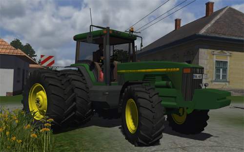 John Deere 8200 (Multi wheels version)