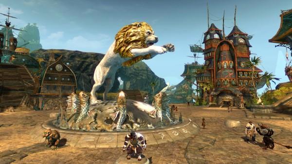Lions Arch - Löwenstein - nächste Woche das erste mal in der GW2 Beta zugänglich