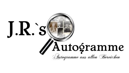 JR Autogramme