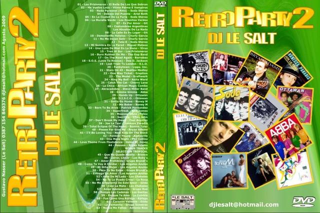 VJ Le Salt - Retro Party Vol 1,2,3,4 [Videomix]