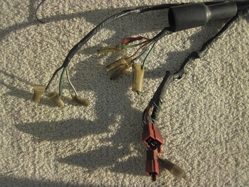 Der Kabelbaum und seine Äste - CX 500