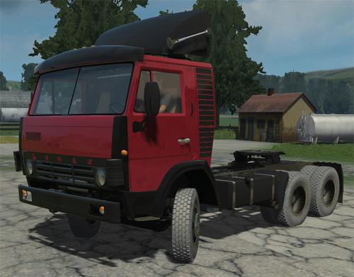 KamAZ 54112 RED