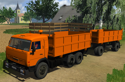 Kamaz 55102 Pack (New)