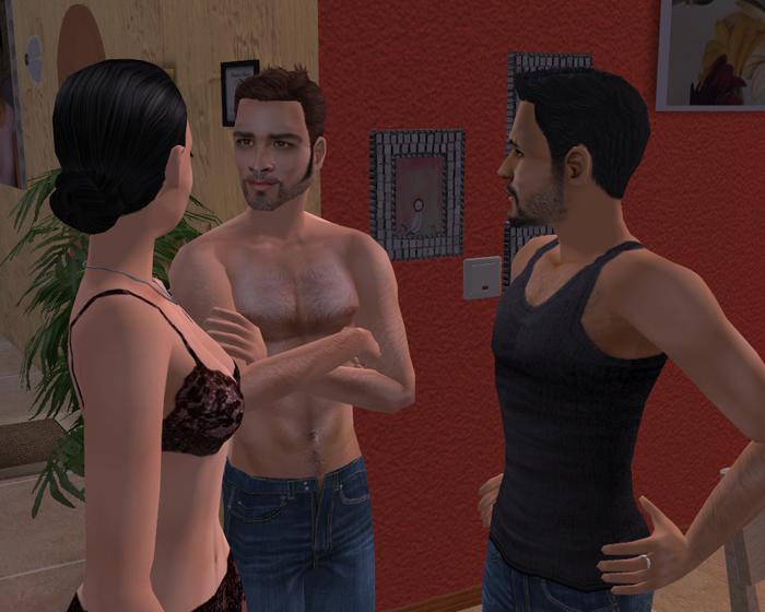 Ihre Brüste verwirrten ihn