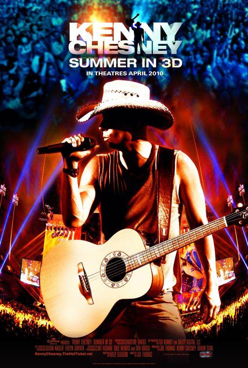 Kenny Chesney Summer in 3D Half SBS z-man