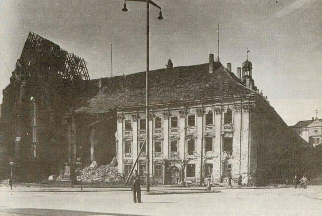 Wrocław  1945 Zniszczenia 92