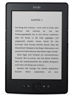"""amazon: Kindle """"classic"""" - eBook Reader mit WLAN - für nur 59€ - nur heute am Montag!! sonst 79€"""