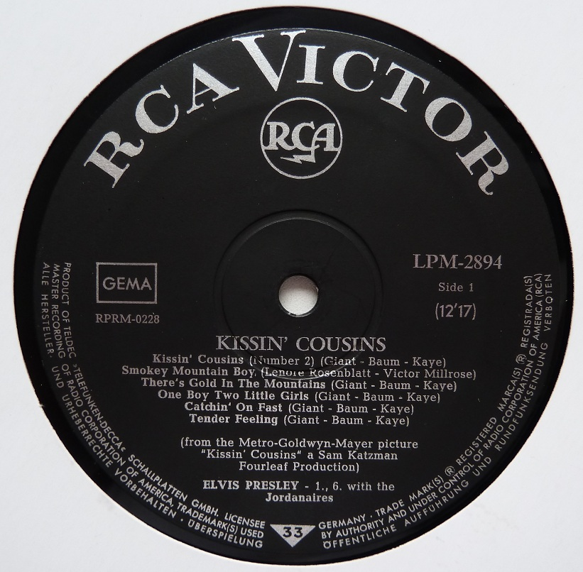 KISSIN`COUSINS Kissincoussinslpm66si96b6u