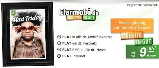 klarmobil Allnet-Spar-Flat Aktion