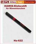 Hawid Klebestift Ha-622 für Klemmtaschen Klemmstreifen