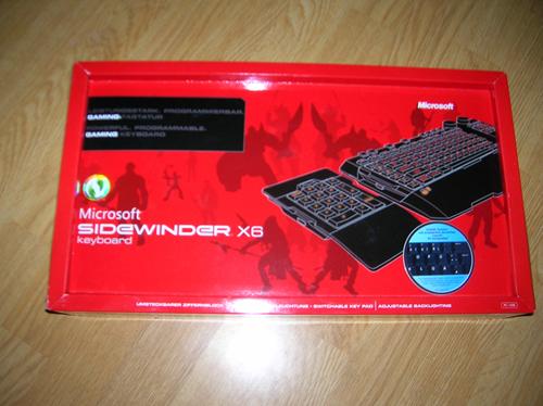 kleinerd0kj - [Review] [Tastatur] Microsoft SideWinder X6