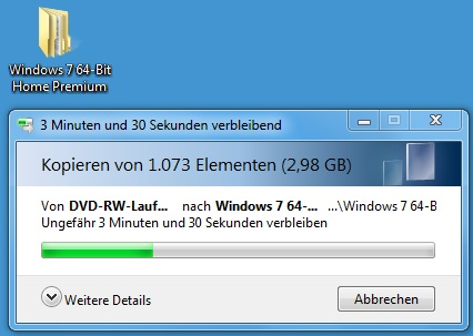 kopiervorgangy4aq - [Tutorial] USB-Stick bootbar machen