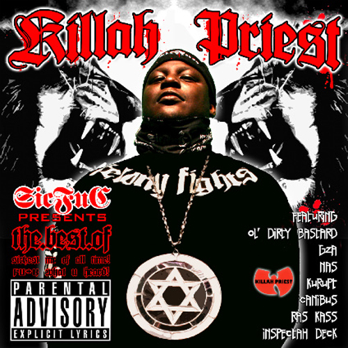 Cover: Killah Priest - The Best Of-2008-FrB