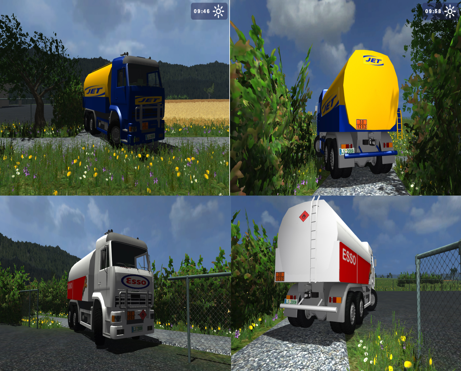 Tank Kamaz 6520 ESSO and JET Pack