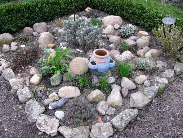 gartengestaltung mit feldsteinen – rekem, Garten Ideen