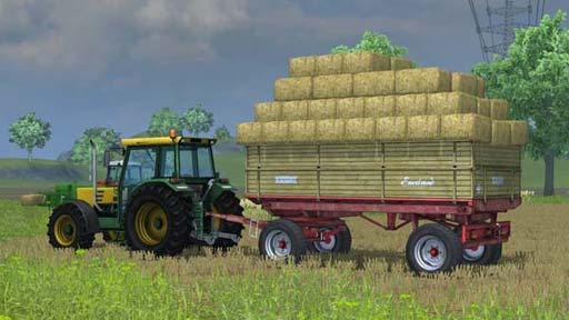 Krone Emsland for small sqare bales v 1.0 [MP]