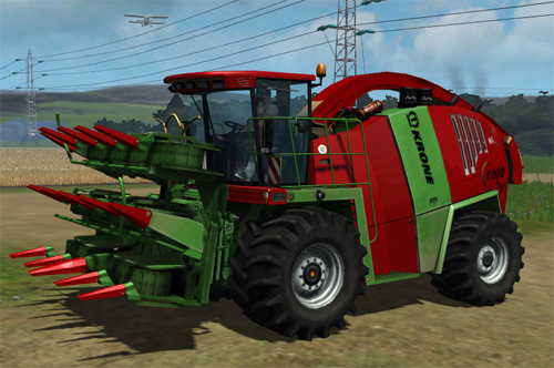 Krone Big X 1000 by T-Fight