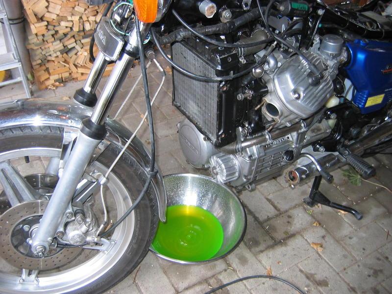 Zylinderkopfdichtung wechseln ohne Motorausbau Kuehlwasserablassen1dsso1