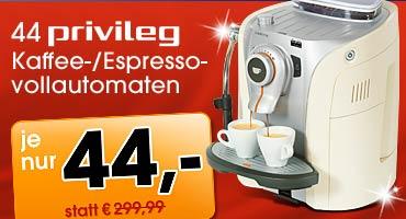 Saeco für 44 Euro bei Quelle