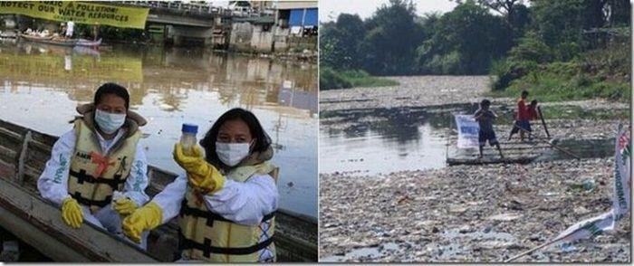 Najbardziej zanieczyszczone rzeki 6