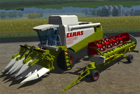 CLAAS Lexion 460 Pack