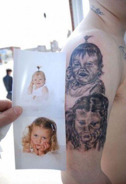Najgorsze tatuaże: portrety 20