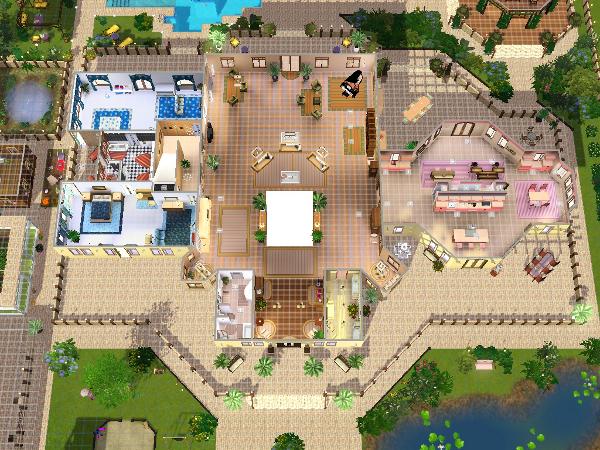 Auftrag - Villa für Großfamilie - Seite 2 - Das große Sims 3 Forum ...