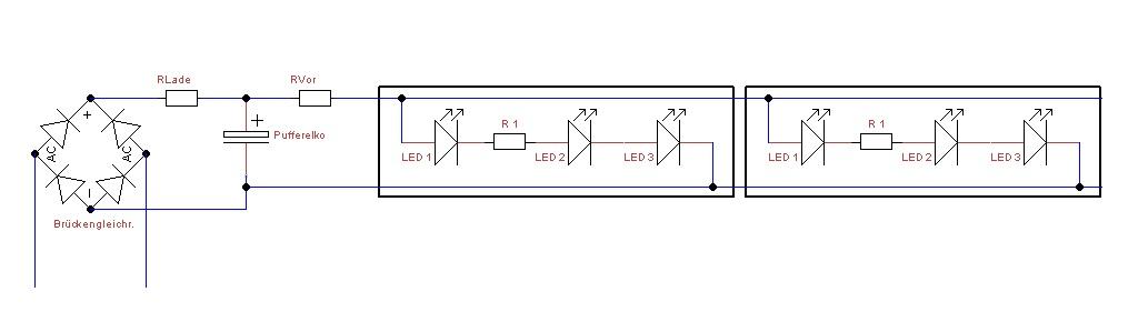 LED Beleuchtung im Eigenbau