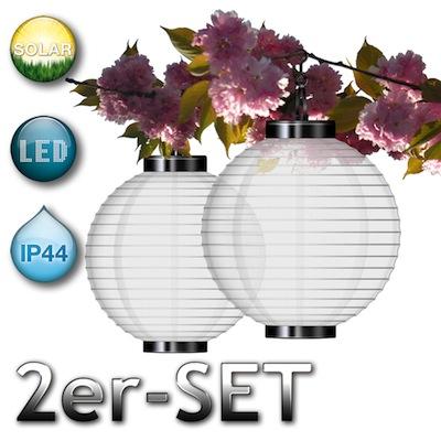 wow ebay 2er set led solarleuchten f r den garten mit einem durchmesser von 25cm f r nur 9 99. Black Bedroom Furniture Sets. Home Design Ideas