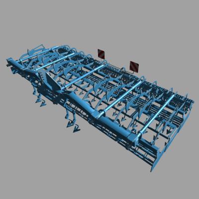 3-точково закачваеми машини Lemkenkompaktor750lug7b
