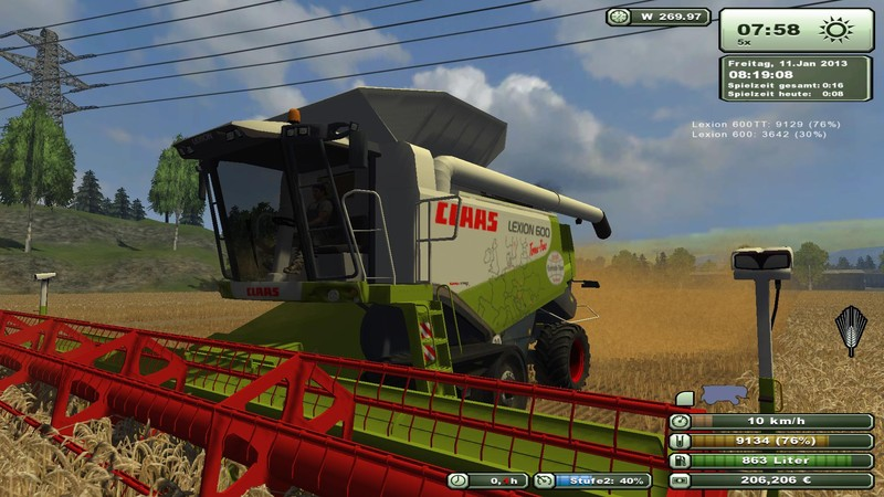 Lexion 600 package v3.1