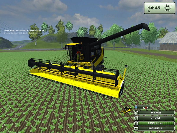 Lexion 760 –  Farming Simulator 2013 Mod