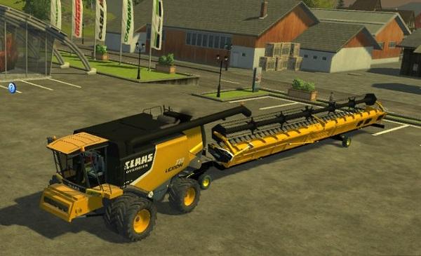 Lexion 770 Pack v 1.0 –  Farming Simulator 2013 Mod