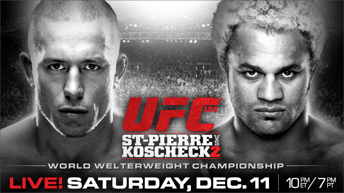 UFC 124: GSP vs Kos