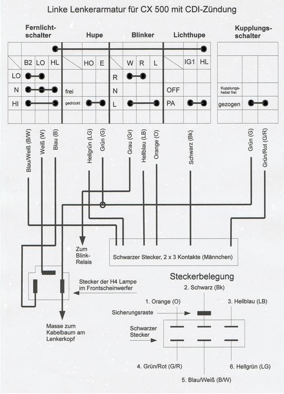 Instandsetzung und Neuaufbau CX500C - Seite 3 Linkelenkerarmaturcx54gxov