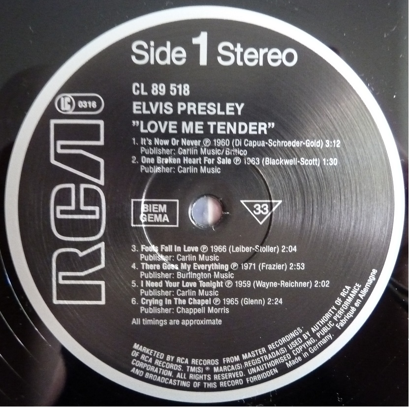 LOVE ME TENDER Lmt85side16wuyv