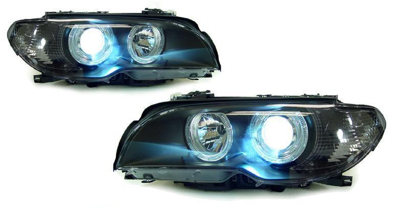 bmw e46 facelift coupe cabrio xenon scheinwerfer r l ebay. Black Bedroom Furniture Sets. Home Design Ideas