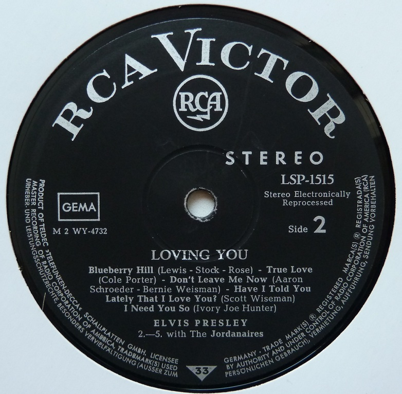 LOVING YOU Lovingyou67side2fvqvd