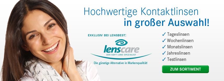 lensbest: 16€ Rabatt Gutschein für Kontaktlinsen und Pflegemittel mit 30€ MBW!