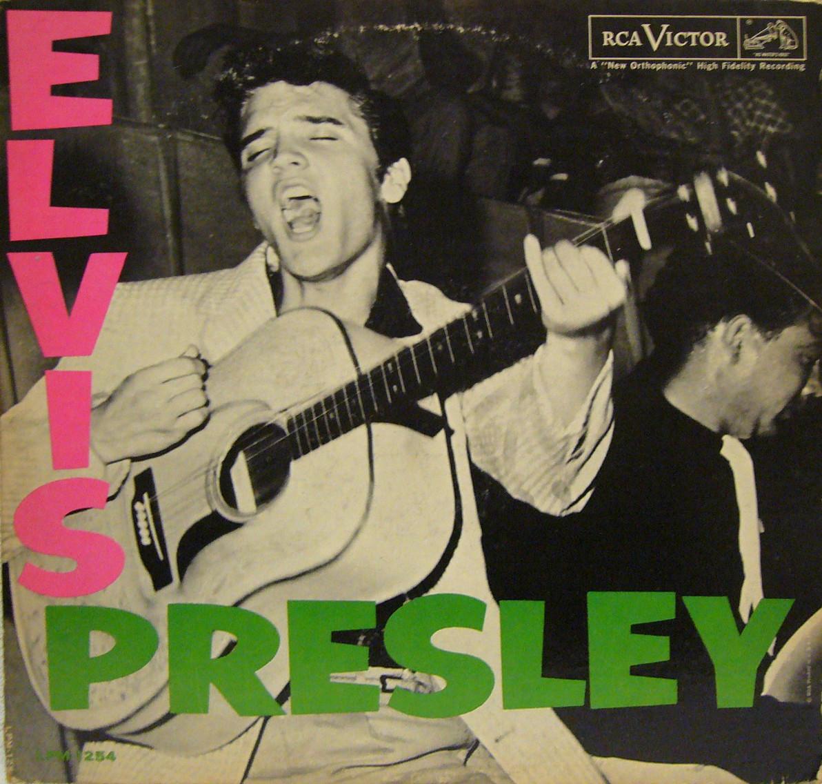 ELVIS PRESLEY Lpm1254reazdrhi