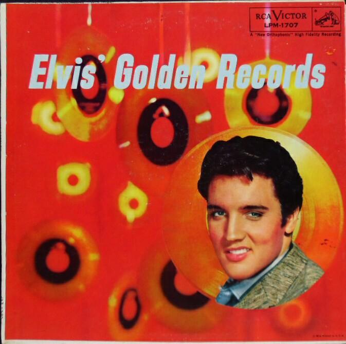 ELVIS' GOLD RECORDS  Lpm1707a9fpte