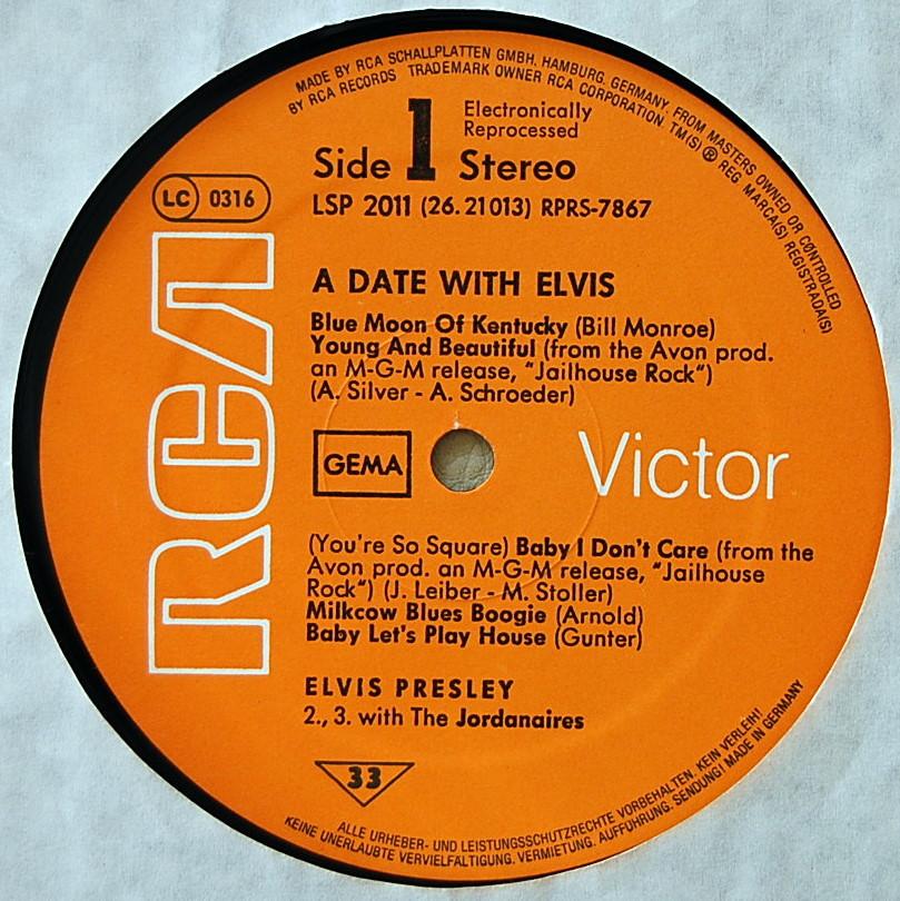 A DATE WITH ELVIS Lsp-2011-3bvon2